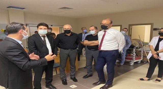 Aydın'da Erişkin Yoğun Bakım Yatak Kapasitesi Yüzde 50 Arttırıldı
