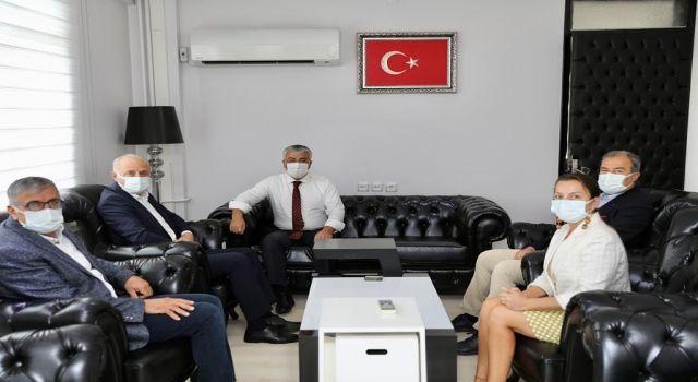 Başkan Atabay'dan Kaymakam Yiğit'e 'Hayırlı Olsun' Ziyareti