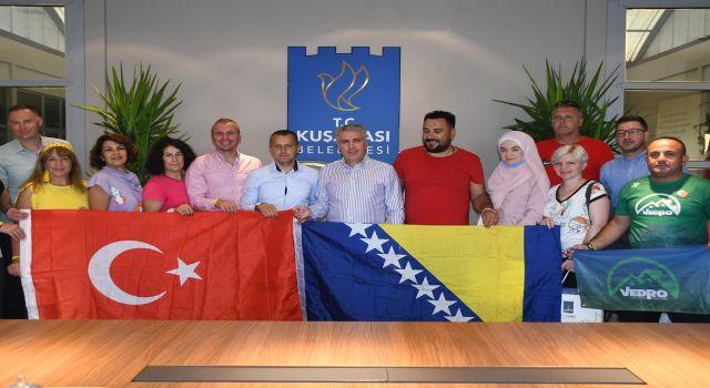 Kuşadası Belediyesi, Bosnalı Dağcılarla Bir Araya Geldi