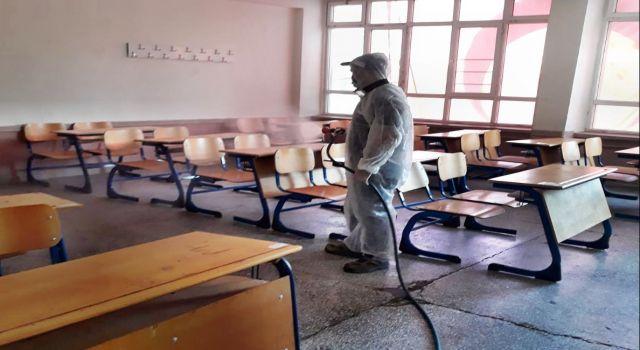 Söke'de Okullar Tertemiz Oldu