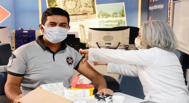 Didim Belediyesine Covid-19 Aşı Stantı Açıldı