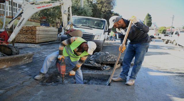 Kuşadası Belediyesi su baskınlarına karşı önlem alıyor