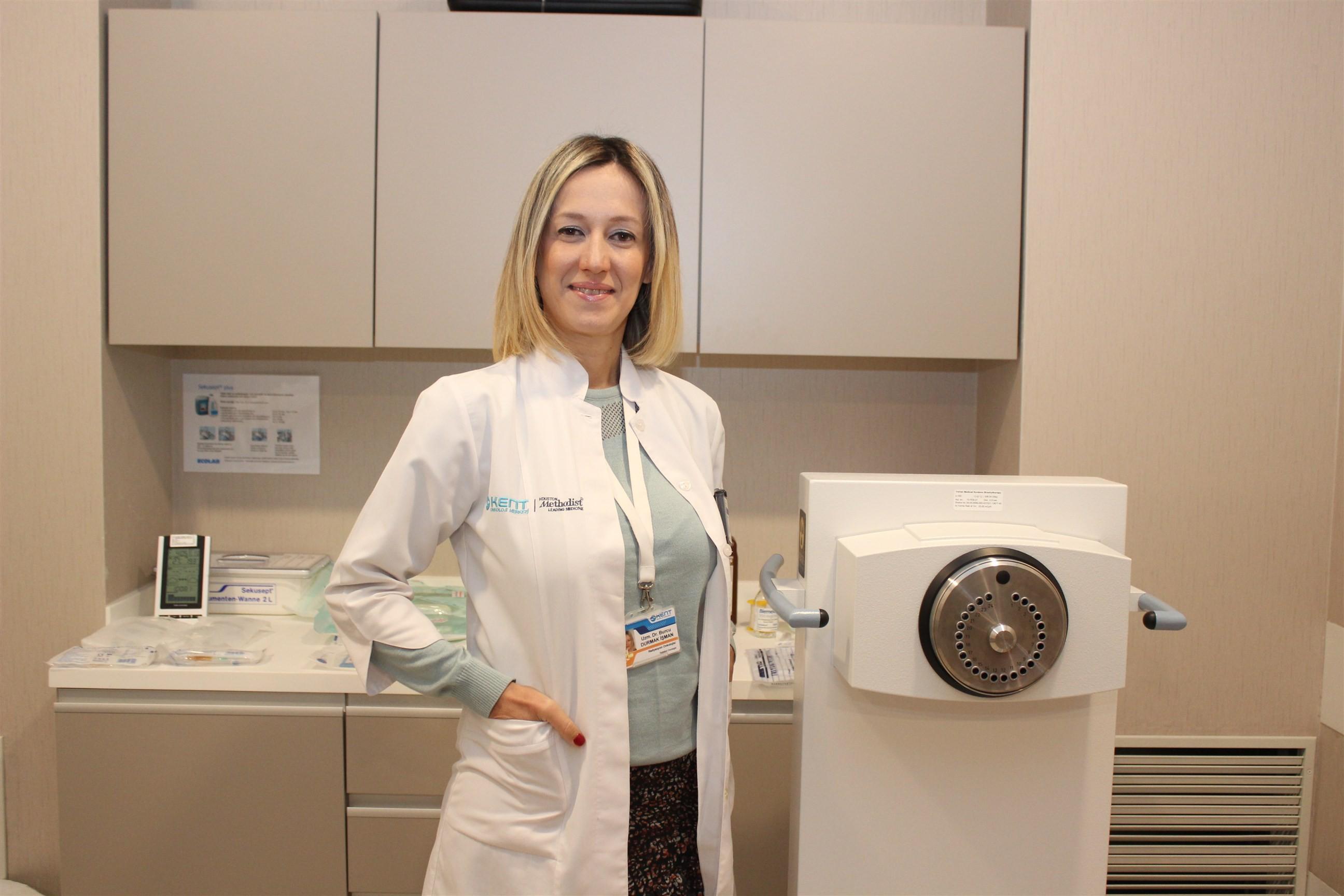 Kansere karşı Brakiterapi uygulaması kadınların hizmetinde