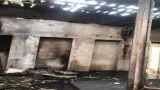 Buharkent'te Okul Kantininde Yangın Çıktı