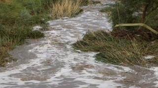 Karpuzlu'da Sağanak Yağış