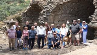 Mastaura Antik Kenti İlk Ziyaretçilerini Ağırladı