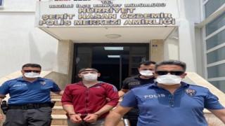 Polise Adres Soran Cinayet Zanlısı Yakayı Ele Verdi