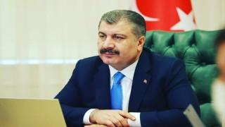 """Sağlık Bakanı Koca: """"Ay Sonu Aşı Yaşı Hedefi 20"""""""