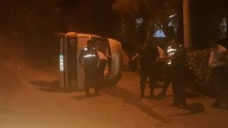 Minibüs'ün Freni Boşaldı: 4 Yaralı