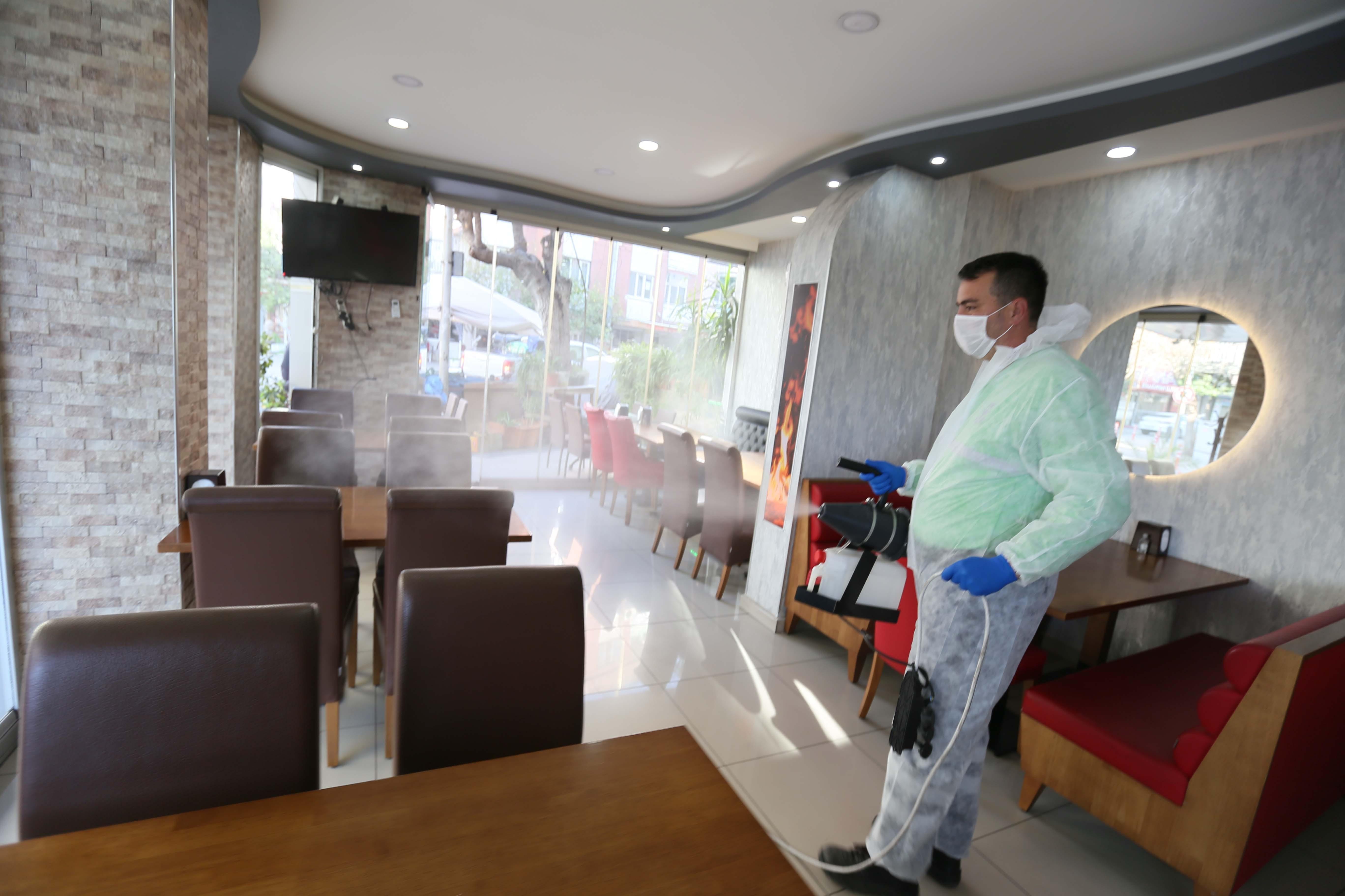 Efeler Belediyesi, işletmelerde önlem alıyor